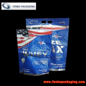 300/400gram doypack with zipper,resealable packaging-FBLLZL001
