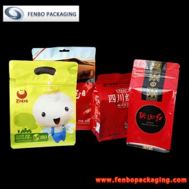 flat bottom tea packaging ziplock bags | packaging tea-FBBBFPD001