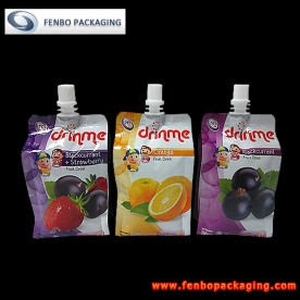 250ml foil drink pouch,flexible packaging printing-FBQEB002