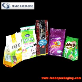 side gusseted foil powder pouch bags | powder food packaging-FBFQD002