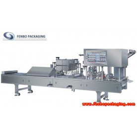plastic food tray sealing machine,food tray packing machine-FBCFDVP