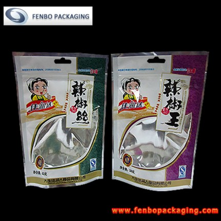 stand up packing pouches ziplock for spices | packaging spices-FBLLZL003