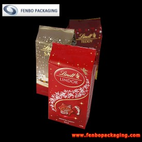 bottom side gusset chocolate pouches bag | chocolate packaging-FBBBFPD003