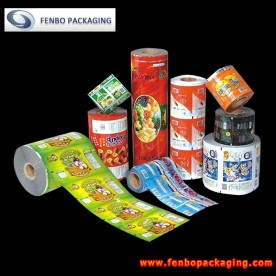 laminated metalized film roll food packaging | packaging film suppliers-FBZDBZM003