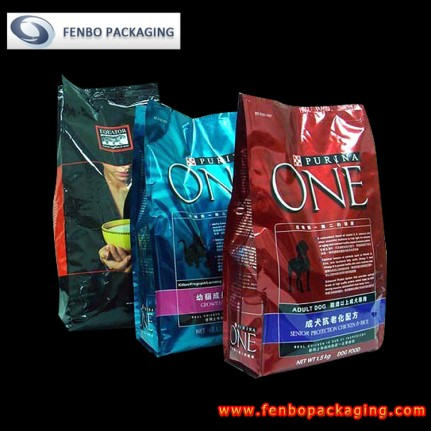 printed side gusset pet food bags | pet food packaging-FBFQD007