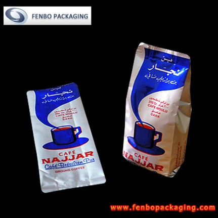 ground coffee in side gusset bags | packaging ground coffee-FBFQD009