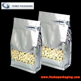 flat bottom zipper pistachio zipper bags | pistachio packaging-FBBBFPD009