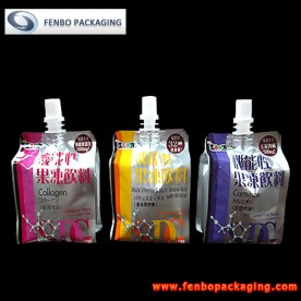 180gram resealable drink pouches,beverage pack-FBQEB011