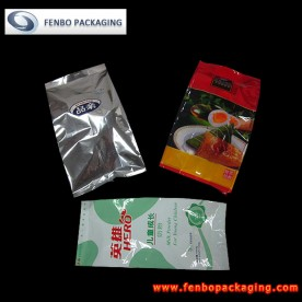 quad seal foil powder packaging bags | powder product packaging-FBFQD011