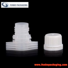 Dia 16mm spout caps for liquid spout stand up pouch | packaging liquid food products-FBLW010