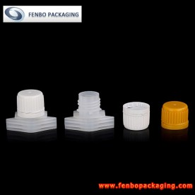 Dia 16mm spout with plastic cap for drink powder pouches | powder drink packaging-FBLW011