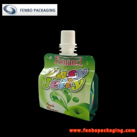 100gram jelly in squeeze spout pouch packets-FBQEBA001