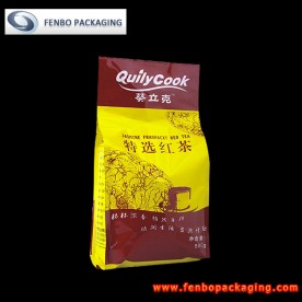 500gram custom printed side gusset tea packaging bags wholesale-FBFQDA005