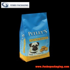 500gram soft dog food silver bags pouches wholesale-FBFQDA006