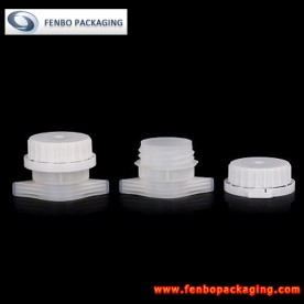 Dia 33mm white spout caps for water pouch with lid | pack of water-FBLW021