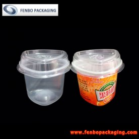 40gram jello shot cups with lids,custom made food packaging-FBSLB024