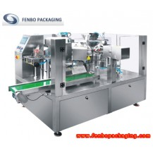 automatic rotary premade pouch fill and seal packing machine-FBR200