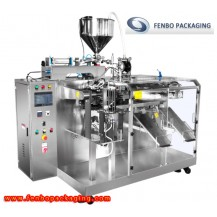 rotary liquid pouch sachet filling and packing filler machine-FB160X