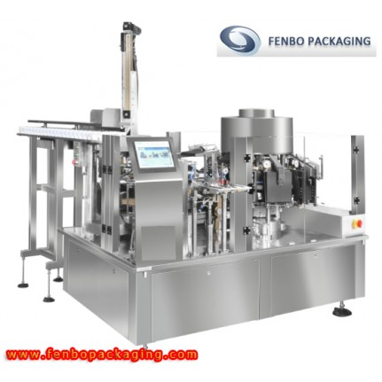 rotary pickle pouch bag filling and sealing packing machine-FB120ZK