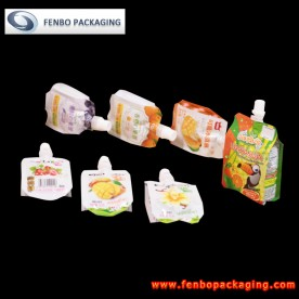 mylar liquid bags with spout | food packaging printing-FBQEB022