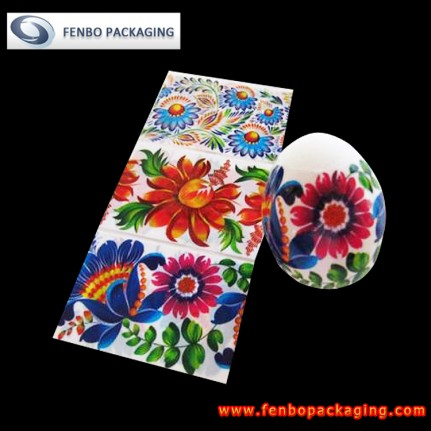 easter egg shrink sleeve wrap company | packaging sleeve labels-FBSSB012