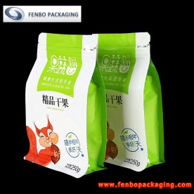 flat bottom zip lock bags suppliers | nuts packaging-FBBBFPD017