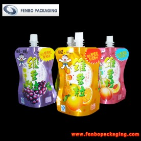 doypack packaging with spout suppliers | flexible packaging-FBYXZL077