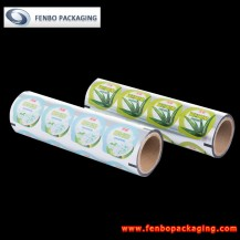 70micron peelable yogurt lidding films supplier-FBFKMA070