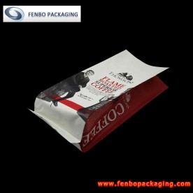 500gram silver side gusseted quad seal coffee bags pouches-FBFQDA023