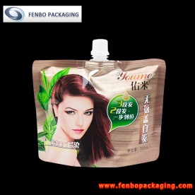 500ml shampoo spout pouches with doypacks company-FBTBZLA130