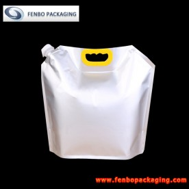 2000ml refill liquid large stand up pouch bags with spout company-FBYXXZA103