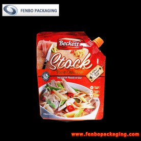 200gram spouted stand up pouches with nozzle for soups poland suppliers-FBXZZLA104