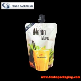 150ml spouted stand up pouches packaging bags for beverages manufacturer-FBTBZLA135