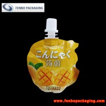 60gram mini jelly spout stand up pouches manufacturers in china-FBYXZLA087A