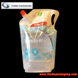 liquid stand up pouch with spout 2000ml poland-FBYXXZA110