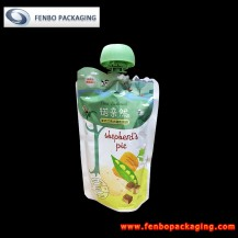 100gram spouted stand up pouches for baby food nz supplier-FBTBZLA140A