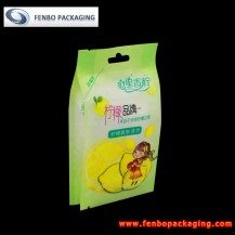 180gram printed food grade side gusset plastic bag pouch quad seal-FBFQDA041