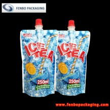 250ml spouted stand up pouch portugal for tea drinks supplier-FBTBZLA142