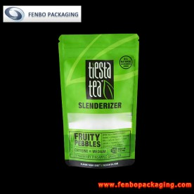 grip seal tea stand up pouches bags 50g-FBLLZLA030