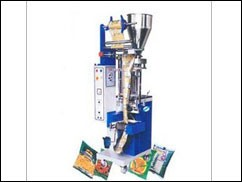 About 2 different style of vertical form fill and seal machine