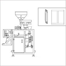 fin seal pouch packing machine
