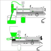 manual filling machine for spout doypack