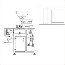 3 side seal vertical packing machine