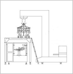 coffee bags packaging machine